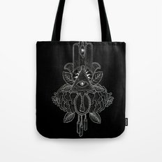 Psalms and Mischief Tote Bag