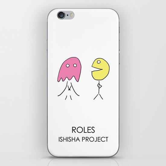 ROLES by ISHISHA PROJECT iPhone & iPod Skin