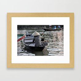 Life on the River Framed Art Print
