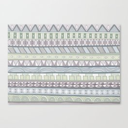 Simple Pattern Canvas Print
