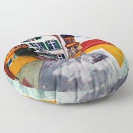 Gemeinde Castell Floor Pillow