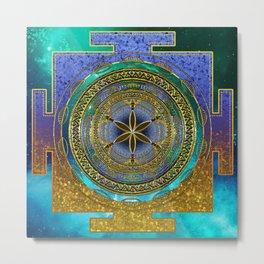 Yantra Mantra Mandala #1 Metal Print