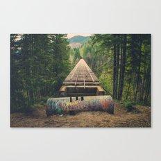 Vance Creek Bridge Canvas Print