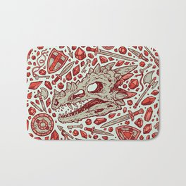 Hoard of the Gem Dragon | Ruby Bath Mat