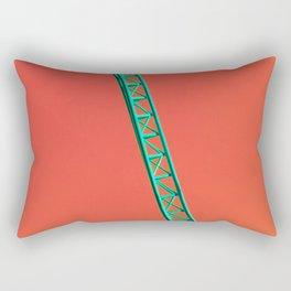 Teal Coaster Rectangular Pillow