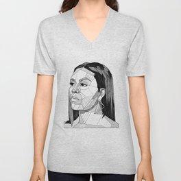 Michelle Obama Unisex V-Neck