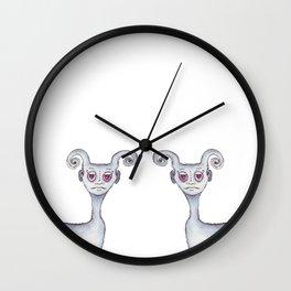 Uniquely Derek Wall Clock