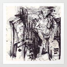 Him & She Art Print