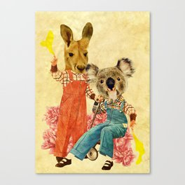 Australia Icon: The Nation Canvas Print