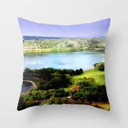 Leg of Mutton Lake Throw Pillow