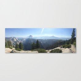 Yosemite Smoky Mountains Canvas Print