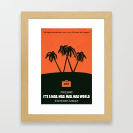 Under the Big W Framed Art Print