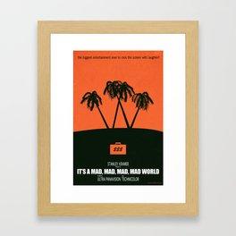 Under the Big W Framed Art Print