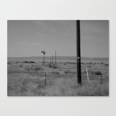 on the way to Marfa #2 Canvas Print