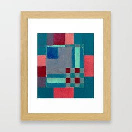 Urban Intersections 4 Framed Art Print