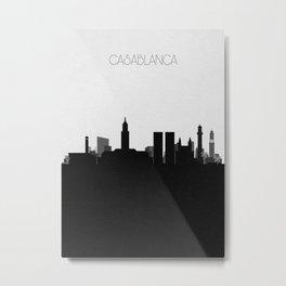City Skylines: Casablanca Metal Print