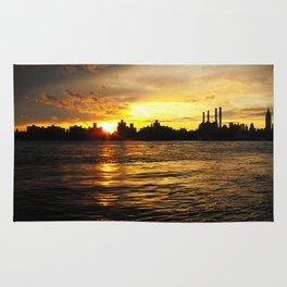 New York Sunset Rug