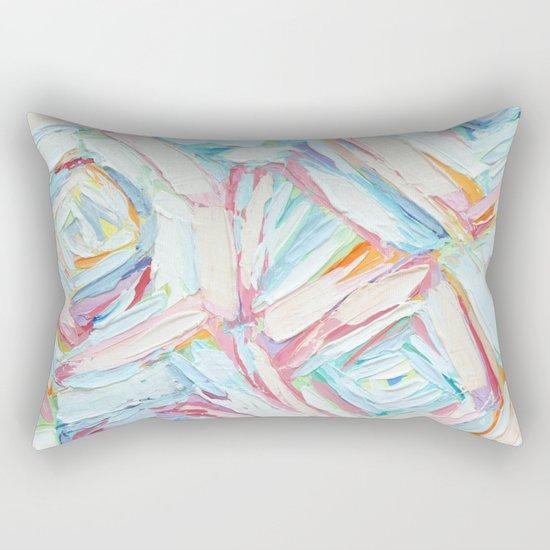Coastal Umbrellas Rectangular Pillow