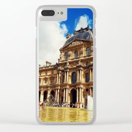 The Louvre museum Clear iPhone Case