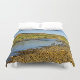 Pentecost River Crossing Duvet Cover