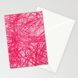 Ophelia Pink Stationery Cards
