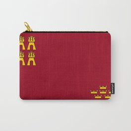 Murcia region flag spain province Carry-All Pouch