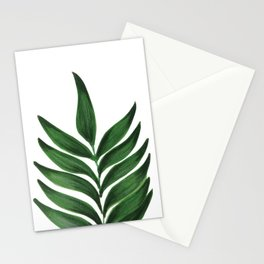 GREEN L E A F Stationery Cards