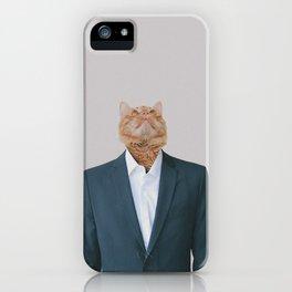Business Cat iPhone Case