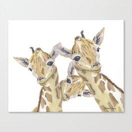 The Trios Canvas Print