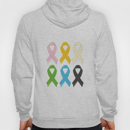 SIx Awareness Ribbons Hoody