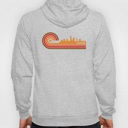 Retro Cleveland Ohio Skyline Hoody