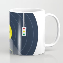 Music car and vinyl #society6 #decor #buyart #artprint Coffee Mug