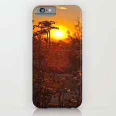 flower sunset  Slim Case iPhone 6s
