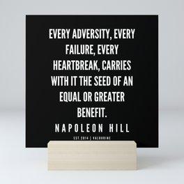18  | Napoleon Hill Quote Series  | 190614 Mini Art Print