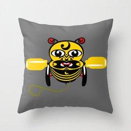 Hei Tiki Bee Toy Throw Pillow