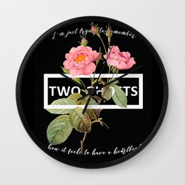 Harry Styles Two Ghosts Artwork Wall Clock
