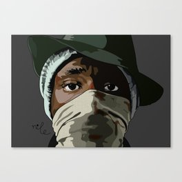 Hip Hop Mos Canvas Print