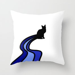 Chasing Oceans Throw Pillow