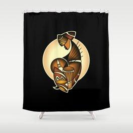 Kenyan Beats Shower Curtain