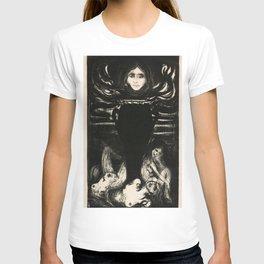 12,000pixel-500dpi - Edvard Munch - The Urn - Digital Remastered Edition T-shirt