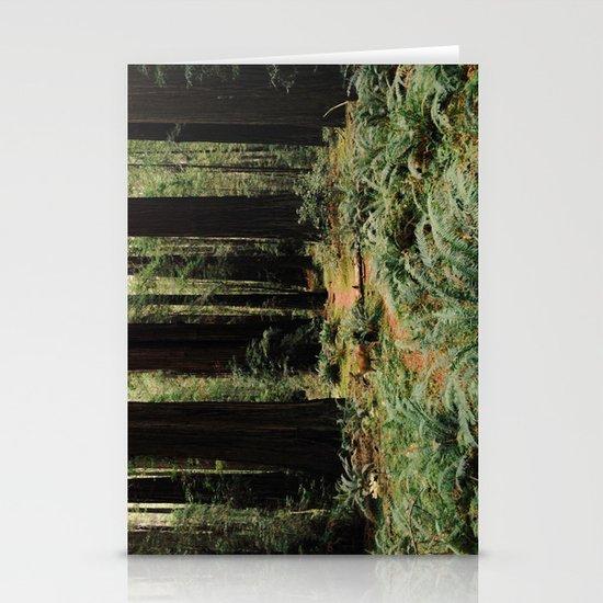 Deer in Redwood Forest Stationery Cards
