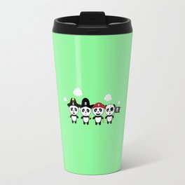 Panda Pirates Crew T-Shirt for all Ages Dt4v1 Travel Mug