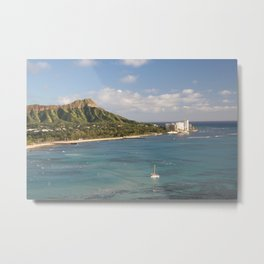 Diamond Head, Honolulu Hawaii Metal Print
