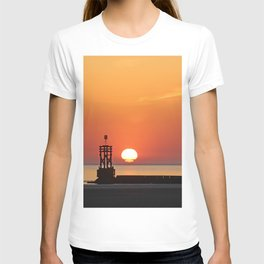 Sinking into the sea T-shirt