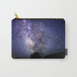 The Milky Way Violet Blue Carry-All Pouch