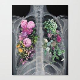 Pneumoflora X-Ray Canvas Print