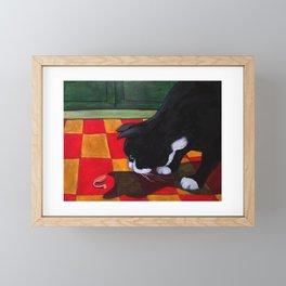 His Servant's Voice Framed Mini Art Print