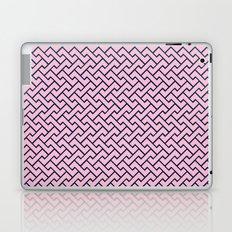 Interlocking - PINK & NAVY BLUE Laptop & iPad Skin
