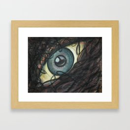 Dreamy Eye Framed Art Print