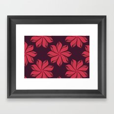 I Heart Patterns #004 Framed Art Print